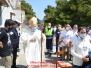 Santa Messa al Castello, Benedizione Eucaristica alla città di Cava de'Tirreni da S.E. Mons. Orazio Soricelli